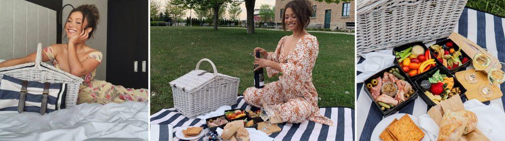 Women enjoying the picnic experience
